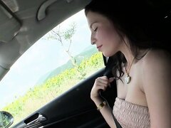 Swingers pick up Angel Hott and bang her