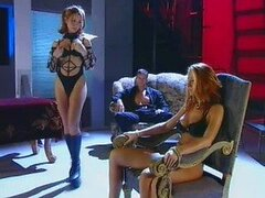 Sexy Sluts Julia Taylor and Maria Bellucci Get Threesomed In Lingerie