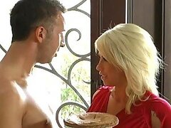 Horny Blonde Cougar Brooke Haven Hunting a Big Dick