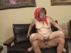 Granny gets the best orgasm of her 70 years