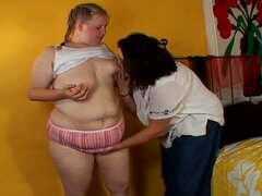Wild monster tits fat lesbian whores fiery pussy fun