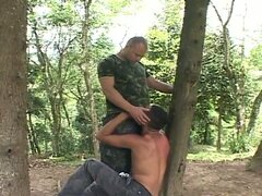 All holes stuffing outdoors with gay latino studs lucas and lenny