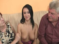 GF fucking with boyfriendshis old parents