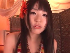 Stunning Tsubomi pleases stud with amazing oral