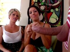 Hardcore threesome with Brooke Haven, Dylan Ryder and Ramon