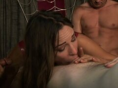 Amateur sexual slave gangbanged hard