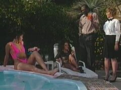 Black Buttnicks Sean Michaels presents the adventure of a rich black family who loves anal sex...