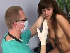 Nasty gynecologist and his very special gyno exams
