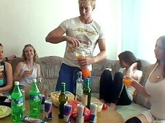 Hot Party With Sexy Babes And A Lot Of Alcohol