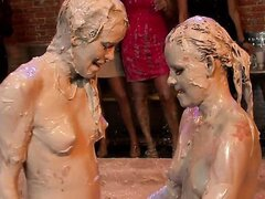 NAKED AND NASTY MUD WRESTLERS