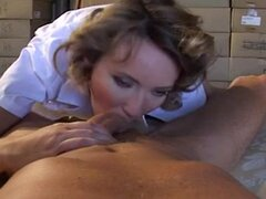 French Milf Ava -Stockings Anal