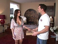 Whitney Stevens Fucks A Pizza Guy With A Really Hard Sausage
