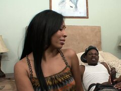 D'Vae got busted by her mom fucking, so she decided the old MILF to share cock