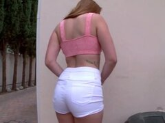 Rose Red Tyrell gets both holes fucked