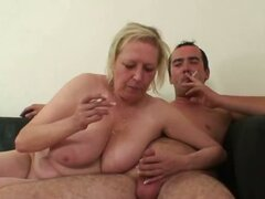 Banging mom in law hard