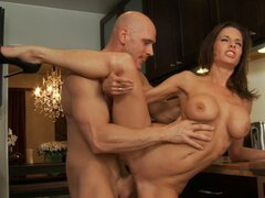 Veronica Avluv and Johnny Sins show master class in hot sex