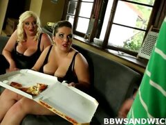 Domination sex with 2 fat girls