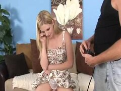 HomeGrownWives Blonde Housewife Fucking To Save Some Money