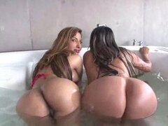 These Stacked Girls From Colombia get Fucked