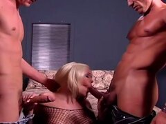Hot blonde get extreme hardcore sex