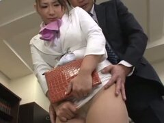 Sex Loving Secretary Does What Her Boss Tells Her