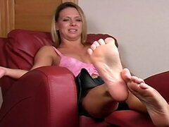Lick My Feet right now JOI