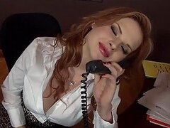 Don't Call In Sick, Just Fuck the Boss Tarra White!