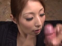 Bukkake Fun With Hina Akiyoshi Taking On Plenty Of Hot Loads