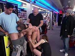 Dirty Wife Slut Shamed in a Store