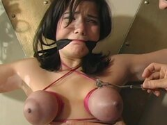 Hard BDSM with pain and bondage