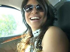 Dazzling Latina Laurie Vargas Taking a Double Penetration