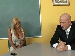 Big Breasted Blonde Mommy Misty Vonage to the Rescue