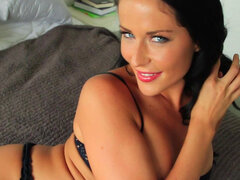 Brunette Courtney Paige is absolutely gorgeous