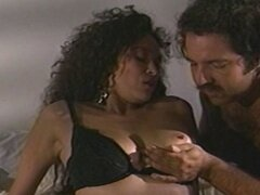Ron Jeremy and Saki St. Jermaine do some hardcore fucking in the bedroom