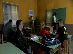 Hot European MILF Teacher