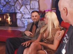 Blonde swinger sex with friends