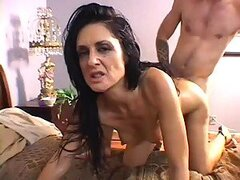 Horny Brunette Has Her Hairy Pussy Shaved...