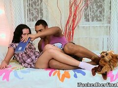 Cindy can't get enough of that cock once her man finally gets it in her! She's an animal for it!