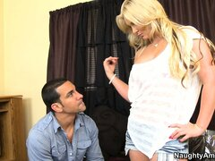 Phoenix Marie is left home alone and needed someone to take care of her