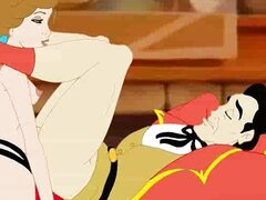 Belle and Gaston sexual games