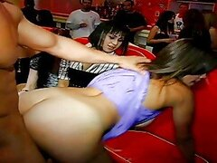Chick Gets Nailed By Stripper Guy.