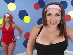 Brazzers - Busty aerobics teacher Kiera King loves big-dick