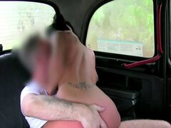 European amateur ass fingered in a cab