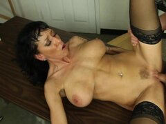 Sassy Alia Janine gets dicked up her wet pantie pot