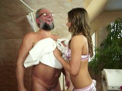 The prostate masseuse for this old dude from Ashley