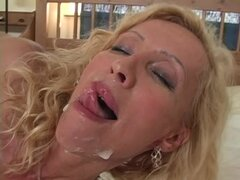 Mature blonde Lenda Murray...