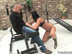 Renata Black gets all holes filled