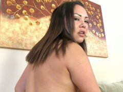 Chubby Asian slut Tina Lee loves cock in her pussy hole