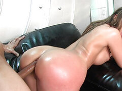 Kelly Divine has the ass of a Goddess! You'll see exactly why her name holds true in this scene, her ass really is Divine! It's not often she finds a cock big enough to satisfy her...but Anthony Rosano to the rescue, as he gladly drills her ass hole raw!