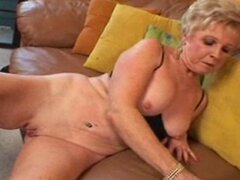 Big clit granny video
